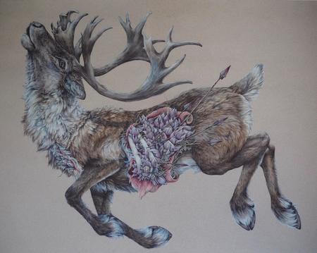 """Sarah Leea Petkus """"Our Triumph is Our Catastrophe"""" Art Print"""