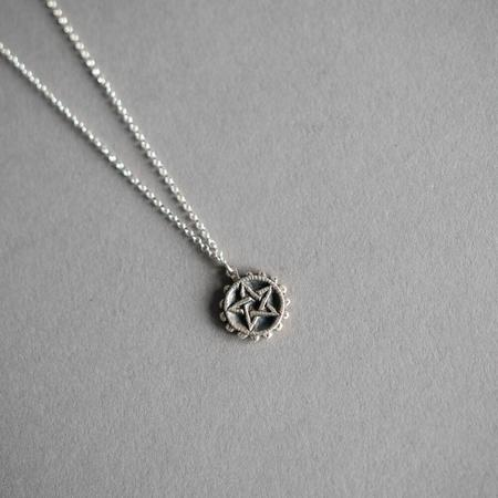 Dwellore Pentacle Minor Arcana Necklace - Sterling Silver