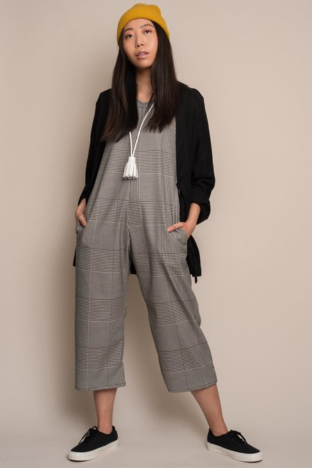 Altar Houseline Plaid Jumpsuit