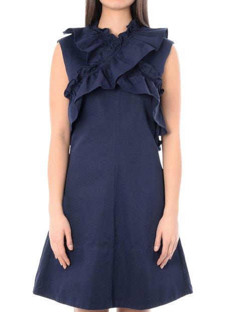 Marni Dress - Light Navy