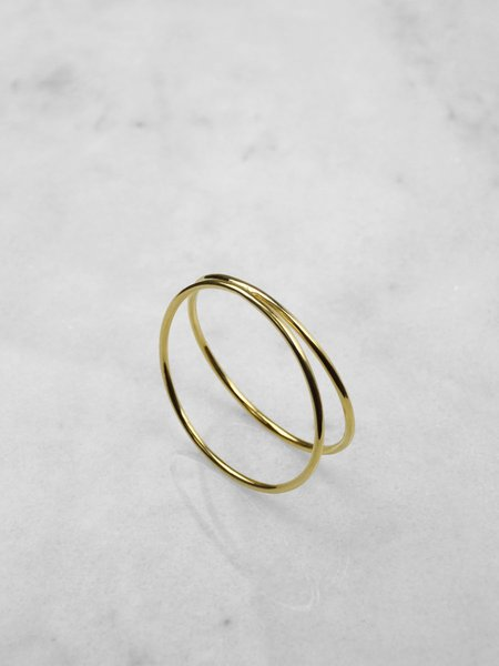 IGWT Jewelry Drift Bangle - Brass