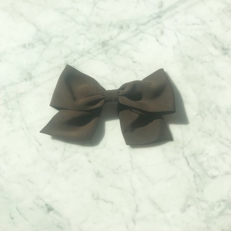 Bianca and Red Bow - Black