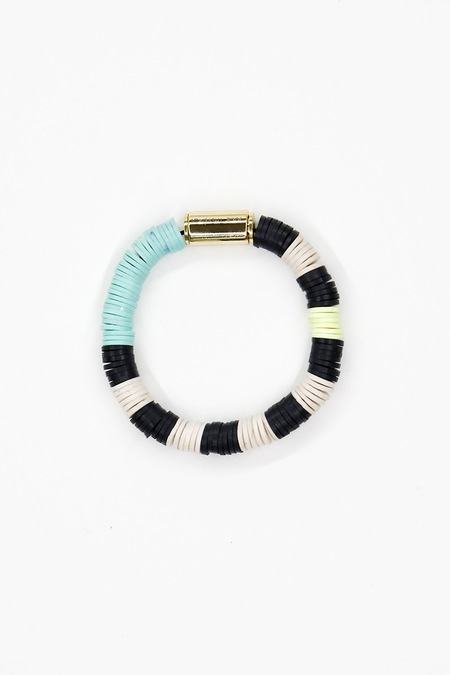 Julie Thevenot #16 CHUNKY ISIAND STRIPED BRACELET