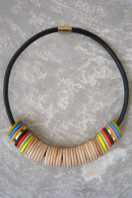 Julie Thevenot RAZZEN SHORT NECKLACE