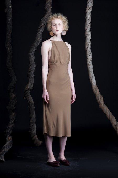 Toit Volant Cherie Dress - Taupe