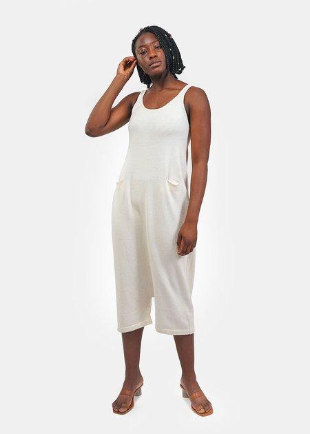 Lauren Manoogian Playa Suit in Raw White