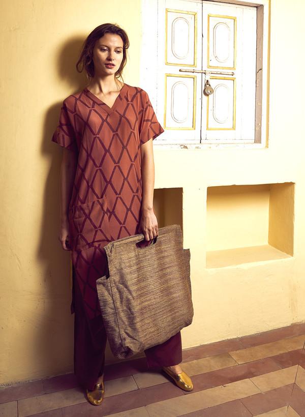 Seek Collective AW16 Pre-Order: Sonia Dress, silk crepe