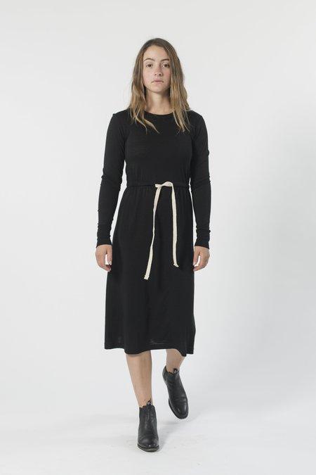 GOOD STUDIOS AUSTRALIAN MERINO DRAWSTRING DRESS