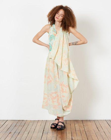 Anntian Drape Dress - Rose Pale