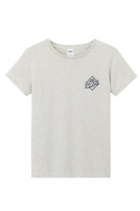 A.P.C. Abbie T-shirt - Ecru