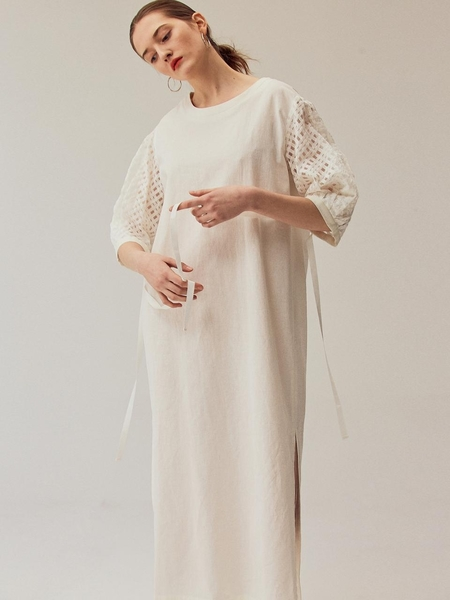 MINNCHAI Diverse Volume See Through Dress