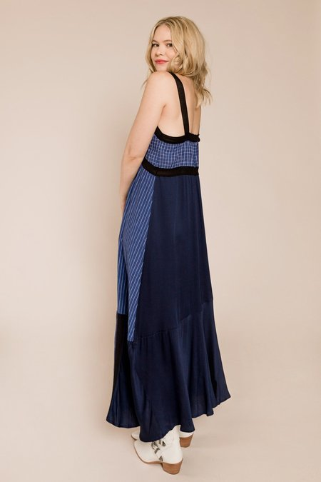 Tela Dipinto Dress - Blue