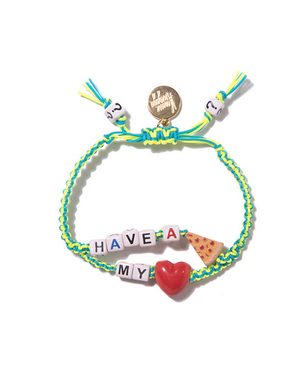 Venessa Arizaga Have a Pizza My Heart Bracelet Set