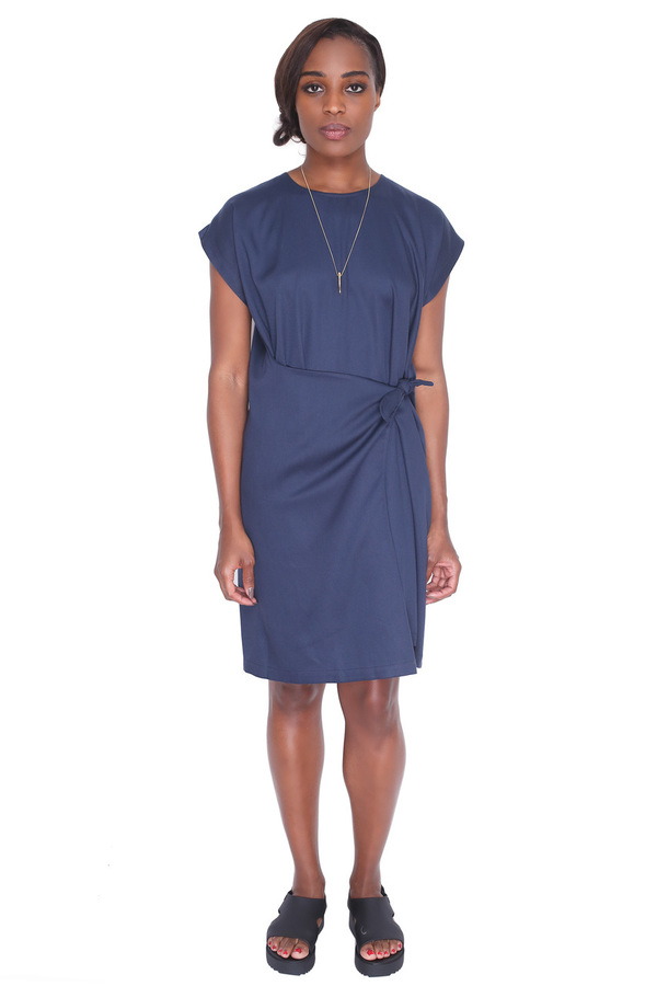 Shaina Mote Meta Dress in Indigo