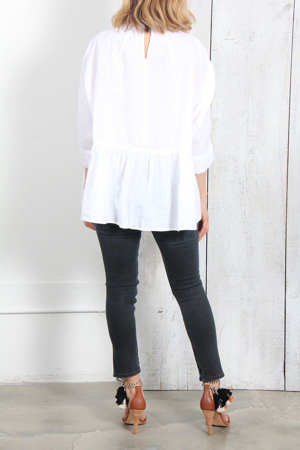 Rachel Comey REUNION TOP IN WHITE