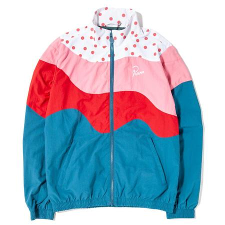 By Parra The Hills Reversible Track Top - Mallard Green