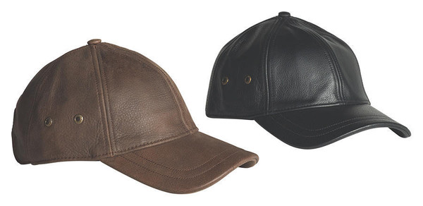 STETSON Leather Cap