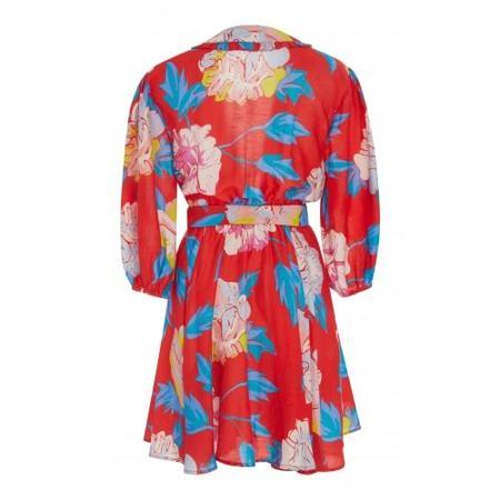 A Peace Treaty Talla Dress - Red