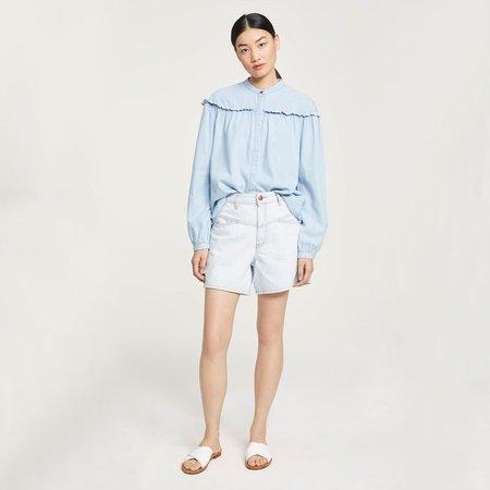 Closed Worker '85 Heritage Denim Shorts - light blue