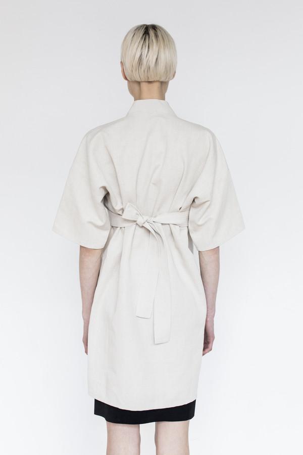 Assembly Cotton Karate Dress - Natural