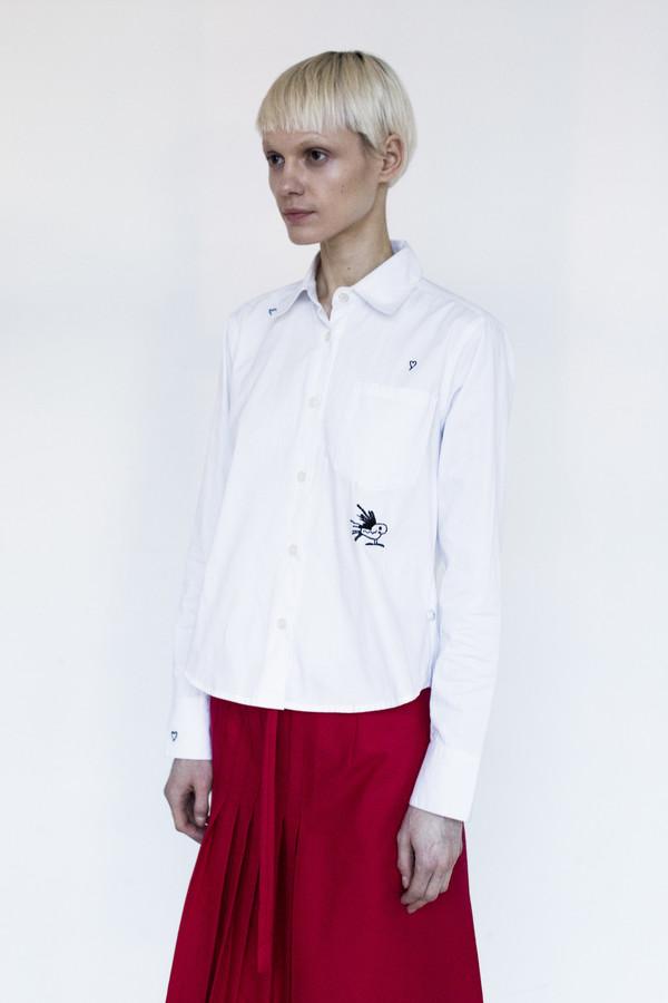 Title A Cotton Short Classic Shirt
