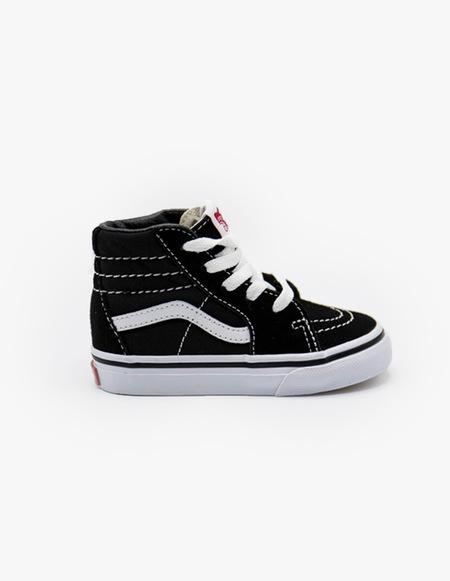 kids VANS Sk8-Hi - black/white