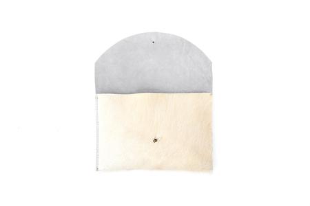 Primecut Envelope Clutch - Natural White