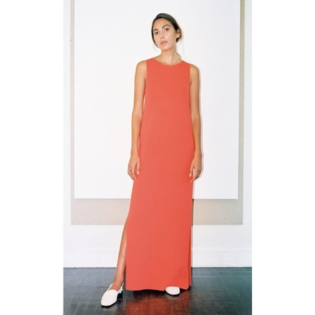Pari Desai Noa Tank Dress Persimmon