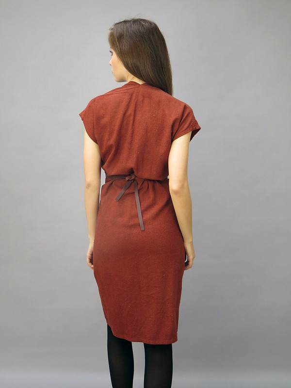 Tempest Dress Rust