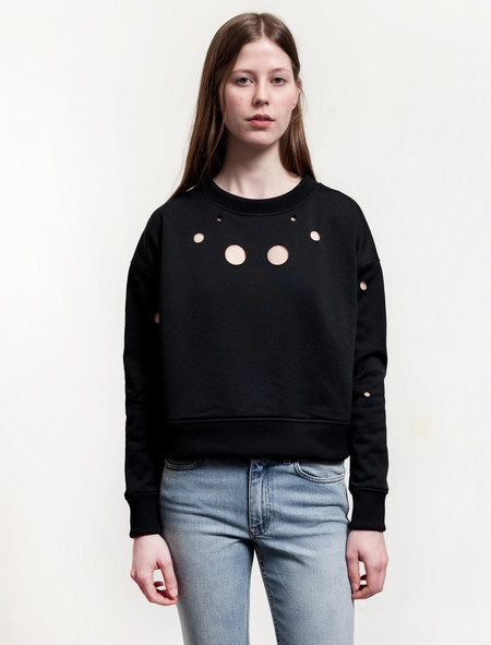 Acne Studios Baylee Cut Out Sweatshirt