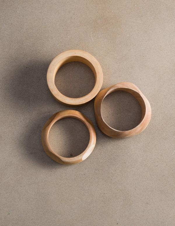 SBJ Austin Wooden Bracelet
