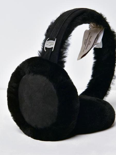 UGG CLASSIC TECH EARMUFF - BLACK