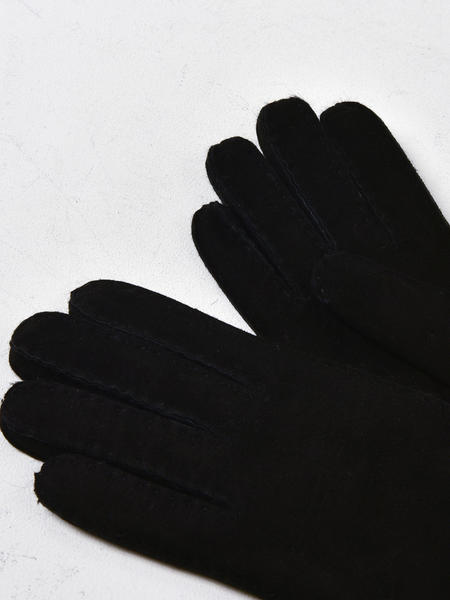 UGG SHEEPSKIN TENNEY GLOVE - BLACK