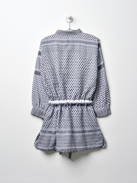 ROUGH STUDIOS LEILA K DRESS - BLACK/WHITE