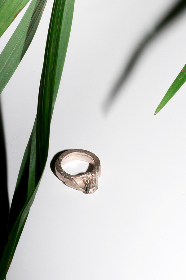 In Objects We Trust PYRITE PERSON RING