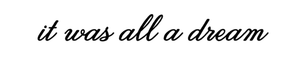 Delores Daywear 'It Was All A Dream' Hoodie