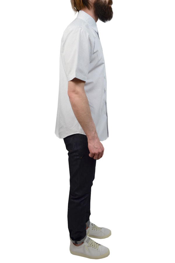 Men's Outclass Pin Dot Dobby I White