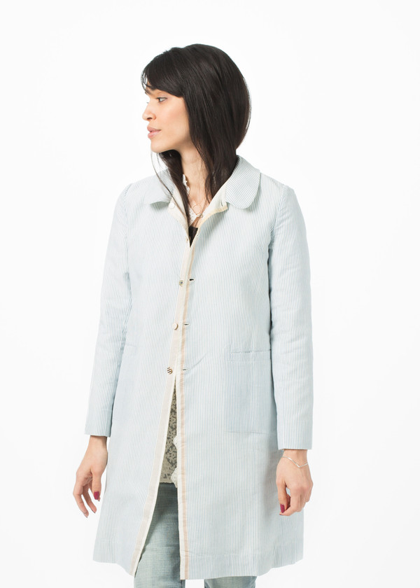 Pero Reversible Linen Coat