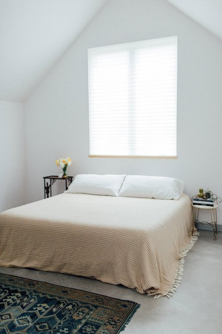 Weft End The Waffle King Bedcover