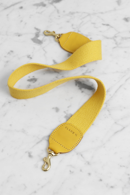 Clare V. Shoulder Strap - YELLOW
