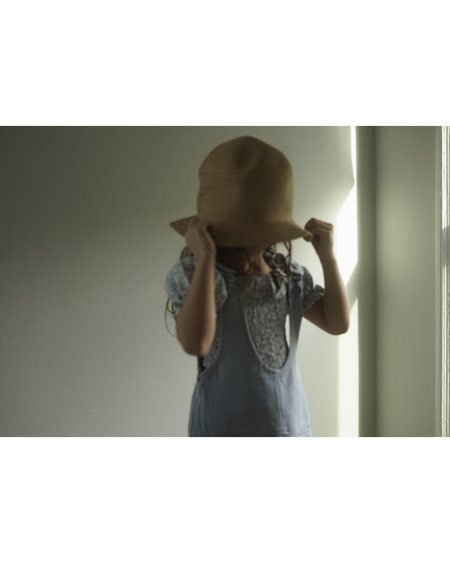 KIDS Ketiketa Ondine Dress - Light Denim