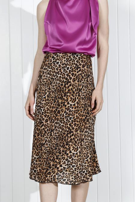 Nanushka Zarina Skirt - Ocelot
