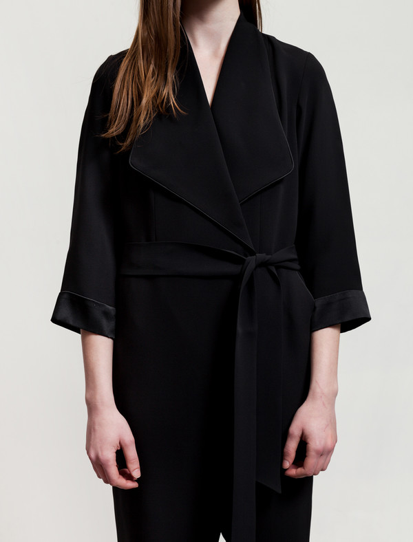 Catherine Quin Nouvel Jumpsuit Black