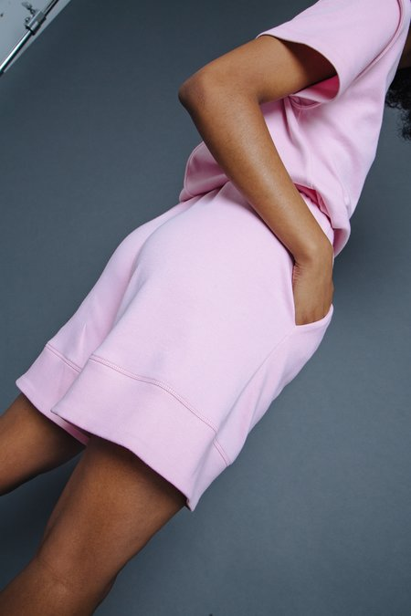 Suzanne Rae Mid Length Short - Pink