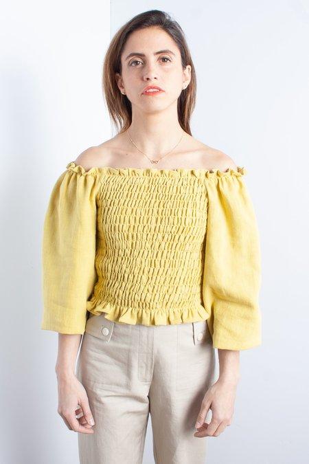 Samantha Pleet Daisy Blouse - Sunflower