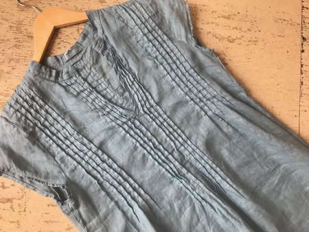 CP Shades Regina Linen Tunic - Blue