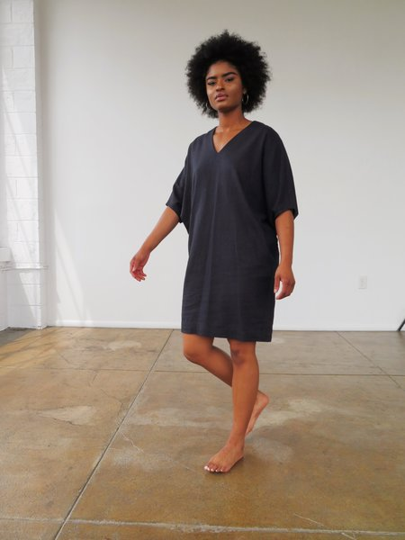 Ginger Caftan - Navy