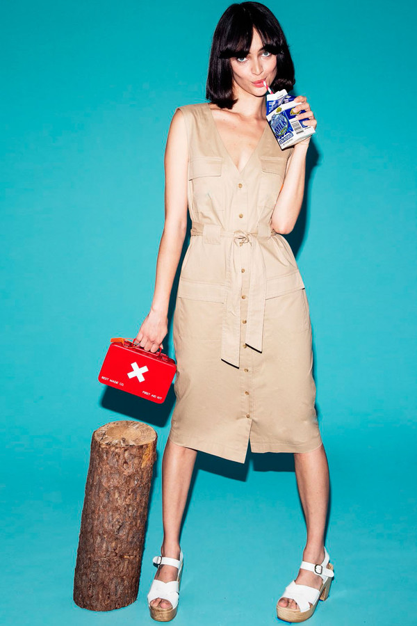 RACHEL ANTONOFF Hammy Cargo Dress