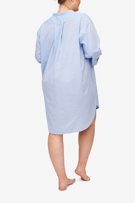 5c890ad4dfd0 The Sleep Shirt x Rosie Daykin Slip On Sleep Shirt - Cook s Blue Stripe ...
