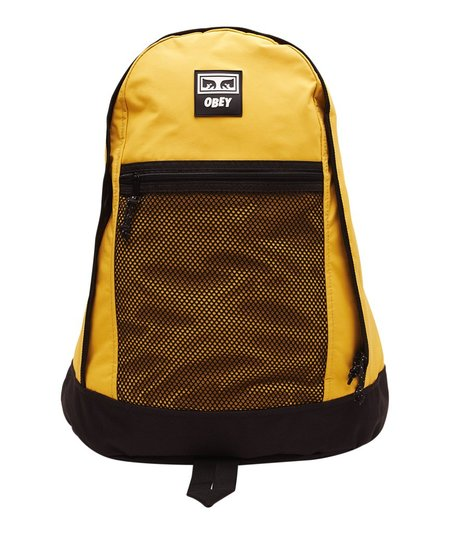Obey Conditions Day Pack - Yellow